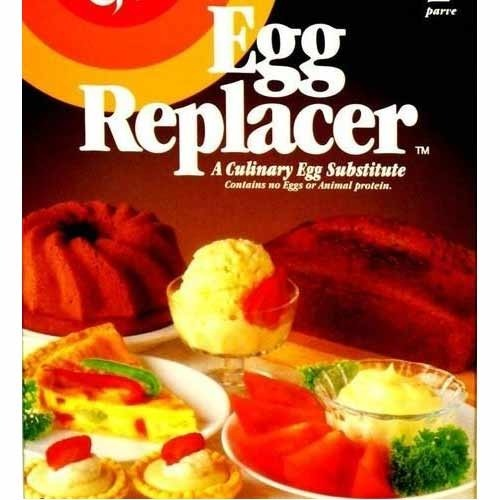 How To Use Egg Replacer Powder In Cake