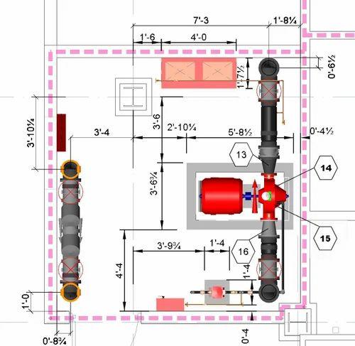 Home Fire Sprinkler System Design: Fire Fighting System Design In New Delhi, Vikas Deep