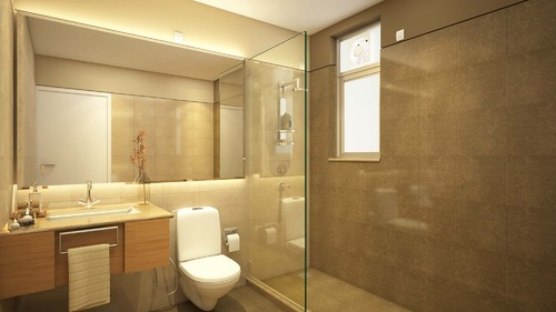 Toilet Interior Designing Services
