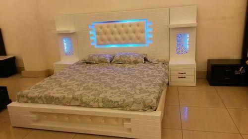 Wooden Bed Wooden Fancy Bed Manufacturer From Delhi
