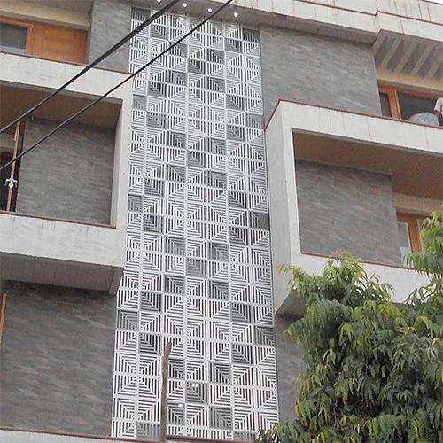 Home Design Ideas Elevation: ACP Front Elevation Manufacturer From Delhi