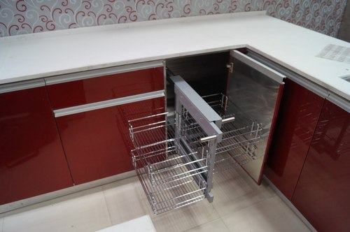 modular kitchen design delhi. Stainless Steel Modular Racks  Pantry Pull Outs Kitchens Manufacturer From New Delhi