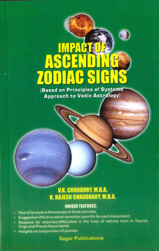 Predictive Astrology Books Modern Impact Of Ascending Zodiac Signs
