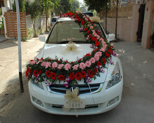 Marriage Car Decoration Picture