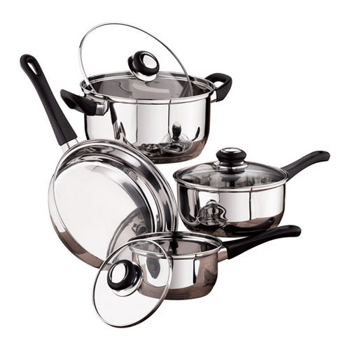 Stainless Steel Cookware Set Ss Cookware Set Latest Price