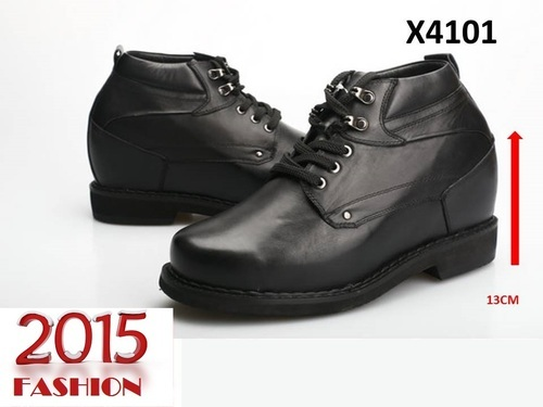 High Cut Shoes Leather