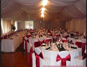 Red White Wedding Themes
