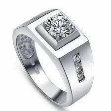 Platinum Jewellery For Men Ring Manufacturer From Delhi