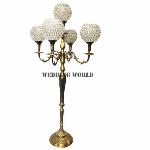 Whole Wedding Golden Candelabra