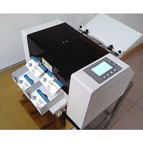 Visiting Card Cutting Machine Auto Electric Name Cutter Exporter From Thane