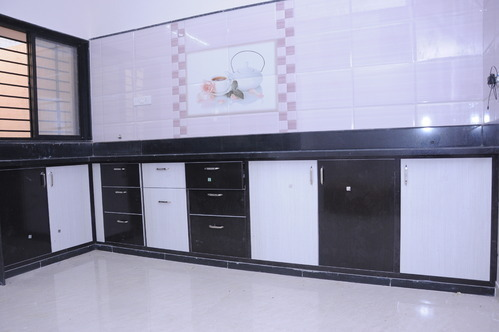 Fiber Kitchen Cabinets In Ahmedabad