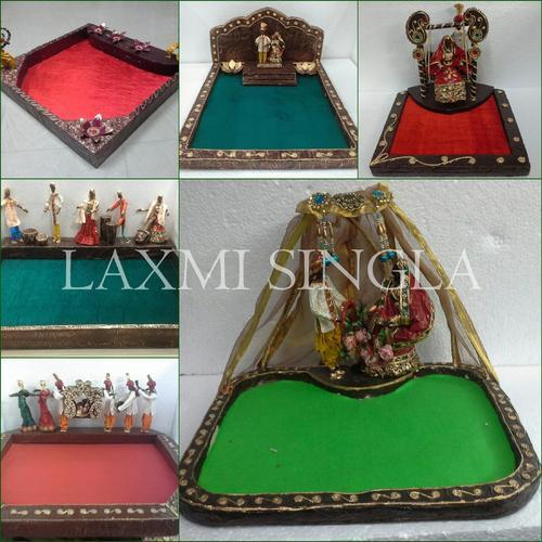 Indian Wedding Tray Decoration: Indian Wedding Theme-Saree Packing Trays
