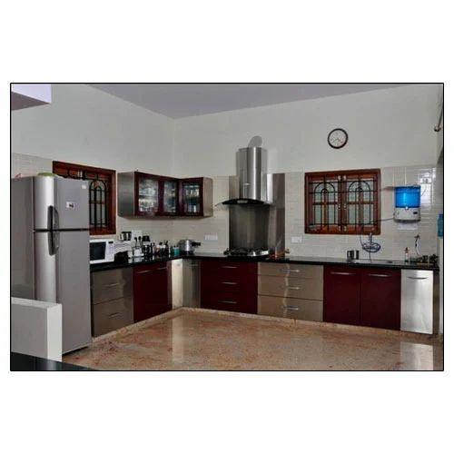 Modular Kitchens: Designer Wooden Modular Kitchen