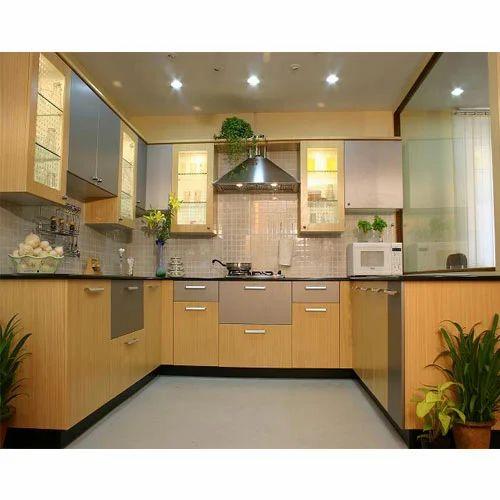 Kitchen Cabinet Manufactures: Laminated Modern Kitchen Cabinet