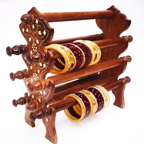Wooden Bangle Stand Manufacturer From Saharanpur