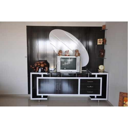 Wardrobe And Tv Cabinet Pvc Living Room Furniture Wholesale Trader